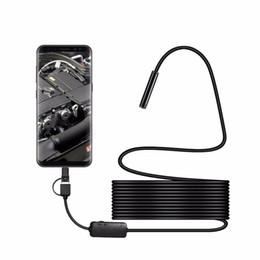 Werkzeuge Humorvoll 2 M 7mm Usb Endoskop Kamera Flexible Ip67 Wasserdichte Inspektion Endoskop Kamera Für Handy Notebook 6 Led Einstellbar