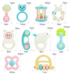 Wholesale Quality Intelligence - new arrival baby toys for 0-2T baby ABS Good quality bite ring bell mix design good intelligence for baby