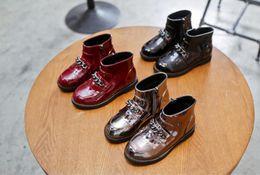 Wholesale British Fabrics - Girls' boots 2017 winter spring and autumn single boots children's fashion British style princess