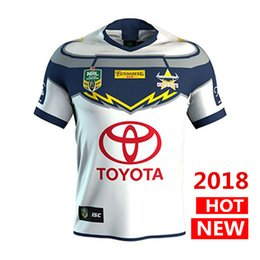 Wholesale North Homes - North Queensland Cowboys rugby Jerseys 2018 home away Jersey NRL National Rugby League nrl Jersey Australia shirt s-3xl
