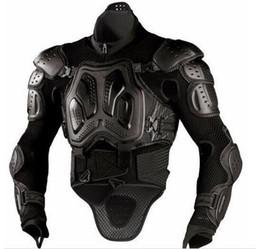 Chaqueta de moto protector de pecho online-NUEVO Defense Racing cofre y protector de espalda Motorcycle WAVE PRO Guard Armor JACKET con cuello