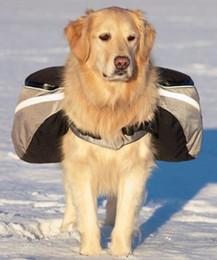 luz - saco cor-de-rosa do cão Desconto Mochila para cães com quatro compartimentos individuais de armazenamento de baixo perfil - Perfeito para armazenar água, trata tigelas! Arnês de Mochila para Cachorro
