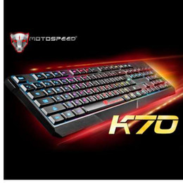 MotoSpeed K70 USB Wired Gaming Keyboard 7 Color Backlit for Pro Gaming Lovers