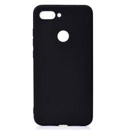 Doce cor da tampa para xiaomi mi 8 lite mi8 lite case soft tpu ultrafino designer de casos de telefone mobie capinha de