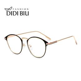 f0682dbcf76 DIDI Italian Eyewear Brands Customized Lens Optical Prescription Glasses  Frames Women Men Fashion Oval Myopia Eyeglasses WL984