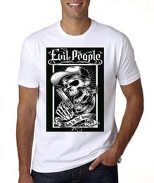 NOUVEAUX PEUPLES MAUVAIS MAUVAIS AU T-SHIRT OSSEUX Hommes Marque Clothihng Top Qualité Mode Hommes T-shirt 100% Coton ? partir de fabricateur