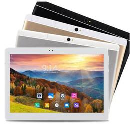 Octa kerntablette 32gb zoll online-Günstigstes 3G Octa Core Tablet 10,1 Zoll 1280 * 800 IPS Android 6.0 Phablet ROM 32GB GPS Tablet PC 7 9 10 Gamepad Metallgehäuse
