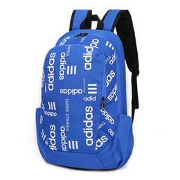 sac à bandoulière en métal argenté Promotion Sac à dos de concepteur avec lettre et bande imprimée luxe sac à dos marque sac occasionnel hommes sac à dos unisexe 4 couleurs disponibles