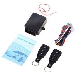 Universal Car Auto Remote Central Kit Cerradura de la puerta de bloqueo del vehículo Sistema de entrada sin llave Nuevo con control remoto Sys alarma del coche desde fabricantes
