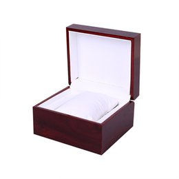 cardboard display cases Promo Codes - Delicate Wooden Cardboard Bangle Bracelet Wrist Watch Jewelry Present Gift Box Display Storage Box Organizer Case Gift