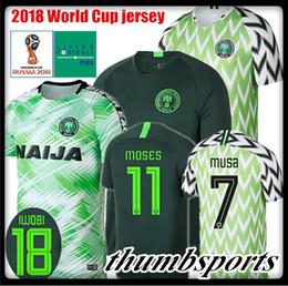 Wholesale Top Q - Best 2018 world cup Nigeria soccer jerseys home away STARBOY 2018 2019 Nigeria Okechukwu Dayo Ojo Osas Okoro football shirts customize top q