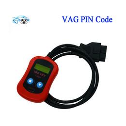 Claves de código pin online-2017 Vag Pin Code Code Auto programador de la llave OBD2 Vag Key Login Herramienta de diagnóstico del coche lector de código envío gratis