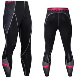Wholesale Gym Clothes Womens L - Mens womens tight fitness pants running biking breathable riding pants mountain Cycling pants outdoor gym clothing sports Exercise trousers