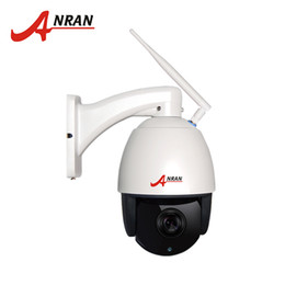 Wholesale Waterproof Ptz Dome Ip Camera - ANRAN PTZ IP Camera Wifi 1080P 4x Optical Zoom 2.8-12MM Lens HD Outdoor Waterproof Surveillance Security Speed Dome Camera With 16GB SD Card