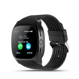 Argentina Los mejores relojes podómetro de reloj inteligente T8 son compatibles con tarjeta SIM TF con sincronización de cámara Mensaje de llamada Sportwatch inteligente para Android SmartWatch cheap best smartwatch for ios Suministro