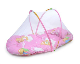 Wholesale Anti Mosquito Net - Special offer infant mosquito net folding portable baby bag anti mosquito summer in Mongolia