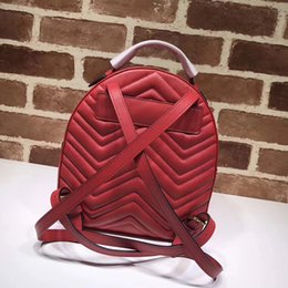 2019 zaini uniti Europa e Stati Uniti donne zaino vera pelle borse moda di alta qualità spedizione gratuita s245 zaini uniti economici