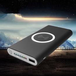 Canada 20000mah Power Bank batterie externe charge rapide Powerbank chargeur de téléphone portable sans fil Powerbank pour iPhone 8 8 plus X samsung Offre