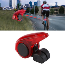 bike brake light rear Coupons - CYCLE ZONE Portable Mini Brake Bike Light Mount Tail Rear Bicycle Light Waterproof high brightness red LED lamp safety warning