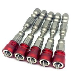 """Embout de tournevis hexagonal en Ligne-10pcs / set 65mm tournevis magnétique peu de plaques de plâtre tournevis à embouts de tournevis embouts de vis ph2 peu -1/4 """"tige hexagonale"""