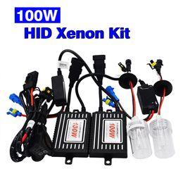 Wholesale toyota bulb h11 - SKYJOYCE 12V 100W HID Xenon Kit H1 H3 H7 H11 9005 9006 replacement bulb 4300K 6000K8000K 100W hid ballast for hid xenon kit