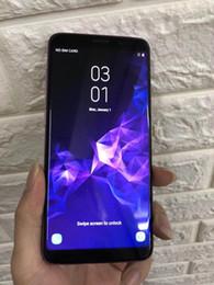 celular de cor roxa Desconto 2018 Novo 6.2 polegadas Smartphone Com Impressão Digital Android 6.0 1 GB / 16 GB Mostrar falso 4 GB RAM 64 GB ROM Falso Celular 4G LTE Desbloqueado Roxo Cor