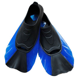 Wholesale frog shoes - Swim Snorkeling Diving Fins Shoes For Swimming Adult Adjustable Frog Shoes Silicone Traning Pool Diving Long Snorkeling Flippers