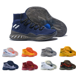 6f841cd9cc20 2018 New Original Crazy Explosive PK High AW Wiggins LasVegas Latvia  Basketball Shoes for Andrew Navy Blue Red Sports Sneakers Size 40-46