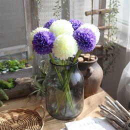 2019 hortênsia de bola de flor artificial Hortênsia artificial flor incrível colorido bola diy de seda hydrangea acessório para casa decoração de casamento falso flores hortênsia de bola de flor artificial barato