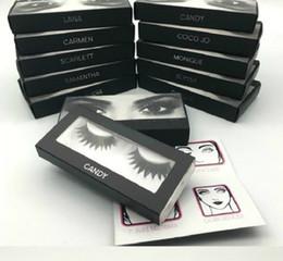 tiras de cabelo sintético Desconto Cílios Postiços Extensões de Cílios Mink edição Cílios Falsos Volumosos Cílios Falsos Para Os Cílios Eye H D beleza