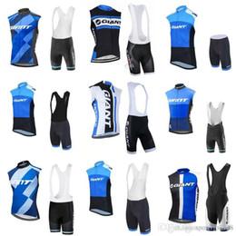 d985d6f8c GIANT team Cycling Sleeveless jersey Vest (bib)shorts sets Mountain bike  clothing sportswear simple style fashion riding equipment c2113