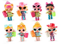 Wholesale Dress Up Doll Plastic - Brand New girl DOLL Dress Up Toys Dolls baby Tear open change egg dolls can spray toys Anniversary with packing