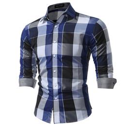 camisa de vestir grande para hombre Rebajas Camisas completas para hombres Fit Mens Dress Camisas a cuadros Ropa masculina Camisa casual social Hombres Brand Chemise Homme Large Size Xxxl