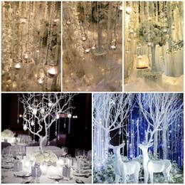 Perlas de cristal cortinas de la puerta online-2018 AB Color transparente 10 M / Roll Glass Beads Crystal Cortina de la sala de estar Ventana de la puerta Cristal Wedding Party Telón de fondo D882L
