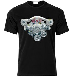 Gt рубашки онлайн-V8 твин турбо наддувом двигателя R8 M6 AMG GT мышцы автомобилей вентилятор футболка Футболка