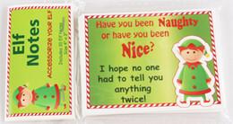 Gratuit elfe de Noël DHL note 50cs / 100pcs / 200pcs / 300pcs sur le jouet plateau Un cadeau de Noël pour les enfants 2018 vente chaude accessoiriser votre elf ? partir de fabricateur
