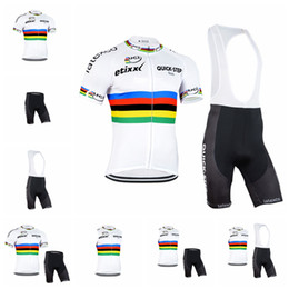 2018 Summer Team QUICK STEP Cycling Jersey set ETIXX Men Short Sleeve Ropa  ciclismo MTB Bike Clothes Breathable Bicycle Clothing 91822Y bike sets for  sale 251ddf3c8