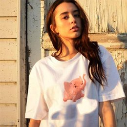 2019 trend tees 2018ss Abbigliamento Uomo Primavera Estate T-Shirts Uomo Donna Cotone Alta qualità Top Tees Hip Hop Moda Trend Skateboard Fuma Ragazza Tshirt trend tees economici