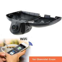 2019 rückspiegel gps android Für Chevrolet Cruze 2013-2015 Dash Cam Novatek 96655 WiFi 1080 P Auto DVR Registrar Versteckte Installation Unterstützung NTSC / PAL AV-OUT zu überwachen