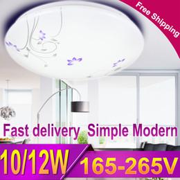Wholesale Flush Mount Bathroom Lighting - CANMEIJIA Modern Floral Led Ceiling Light Flush Mount Ceiling Lamp Fixture Lustre Living Room Bathroom Bedroom Kitchen 12W 220V
