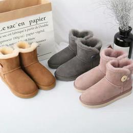 UGG Boots supreme boots addidas nike Scarponi da neve donna inverno  pelliccia di pecora uno caldo e velluto tubo corto in cotone scarpe  addensato fondo ... d1a51f5a3fb