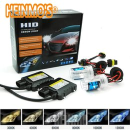 Wholesale Toyota Headlights - 55W Xenon Headlight H4 High low HID Conversion Kit h7 H1 H3 H11 H8 H9 H11 H10 9005 9006 880 881 5000k 43000k 6000k 8000k 10000k 12000k
