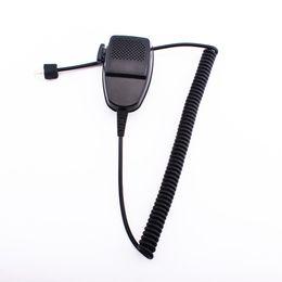 Walkie talkie auto online-Walkie Talkie Lautsprecher Fahrzeug Auto Mobile Radio Lautsprecher Mic Mikrofon Handheld für Motorola GR400 GR500 GM300
