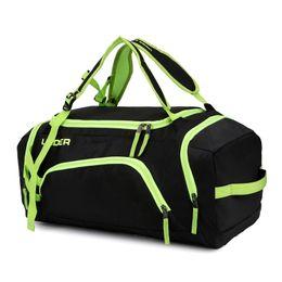 Wholesale Canvas Duffel - Men Travel Bag Men Hand Luggage Travel Nylon Duffle Bags Canvas Weekend Bags Multifunctional Duffel Bags Sport Basketball Yoga Gym Bag