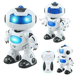 Wholesale Toy Robot Dog Pet - Toy RC Robots Walking and English Speaking robot dog electric toys electronic pets Remote Control dancing robot
