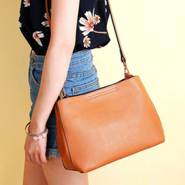 Wholesale Natural Composites - [WHORSE] Brand Brand New Genuine Leather Tote Women Handbags Designer Natural Cowhide Shoulder Bags Fashion Lady Purses Crossbody Bag W09930