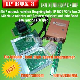 Ip ipad online-la última caja de programador de alta velocidad IP original IP-box2 ip box 2 ip box v2 para Iphone Ipad