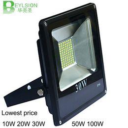 2019 al por mayor reflectores de energía solar 1X 10W 20W 30W 50W 100W Lowest price high quality LED Flood Light Reflector Waterproof IP66 LED Spotlight Fit For Outdoor Wall