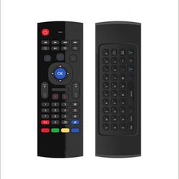 Gratuit x tv en Ligne-mini X 8 Clavier Sans Fil Fly Air Mouse Télécommande G Détection Gyroscope Capteurs MIC Combo MX3 Souris Sans Fil Pour des films gratuits android free tv box