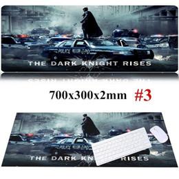 700x300x2mm The Dark Knight Rsies Batman Große Gaming-Mauspad Mauspad PC-Zubehör von Fabrikanten